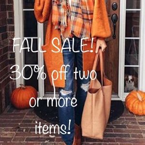 🍁🍂FALL SALE!🍂🍁 EVERYTHING MUST GO!!